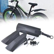 Зимние велосипед спереди и сзади брызговик крылья для 26 дюймов MTB велосипеды Велоспорт