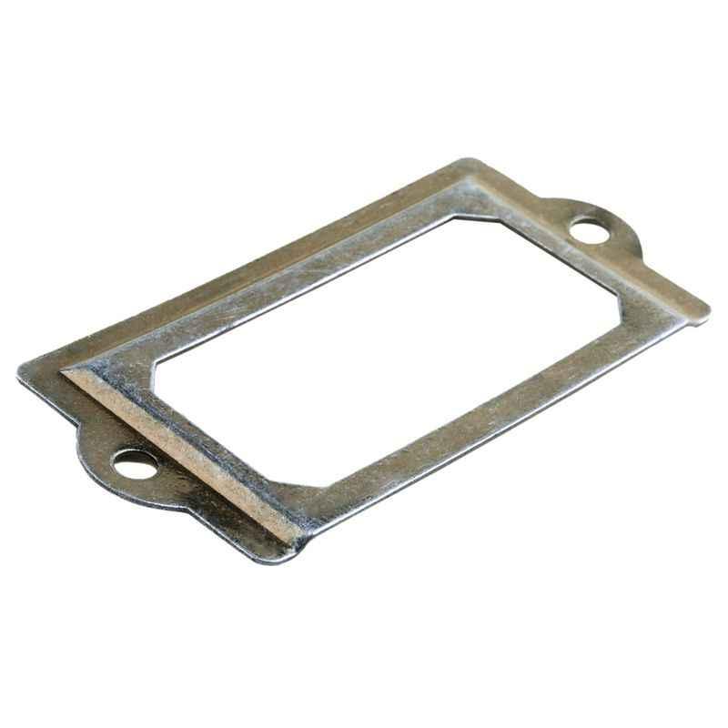 Новая офисная Рамочка для ящиков дверная бирка держатель для карт бронзовый тон 8 шт