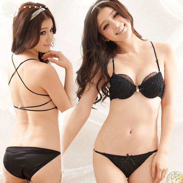 62b5c65b94 Underwear women sexy bra set push up bra lace lingerie set underwear  brassiere female underwear bra and panty set free shipping