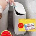 LF83001 drücken typ abfall bin trash null abfall trash tasche müll küche kunststoff eimer papierkorb tasche halter mülleimer abfall