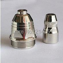 25PC P80 Panasonic Air Plasma Cutter Consumable parts  electrode- Conductive nozzle -Ceramic cup Quality assurance