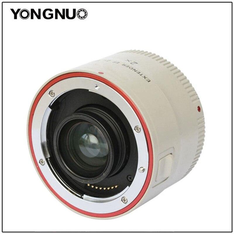 Yongnuo YN-2.0X III PRO 2x Téléconvertisseur Extender Auto Focus Monture Camera Lens pour Canon EOS EF Objectif 650D 1000D 1100D 500D