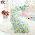 2016 милые плюшевые красочные игрушки жираф кукла подушка подушка поддержи детские дети дети мальчик в девочке подарок бесплатная доставка triver