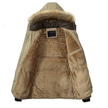 Men Winter Jacket New Fashion Warm Wool Liner Man Jacket and Coat Windproof Male Parkas casaco