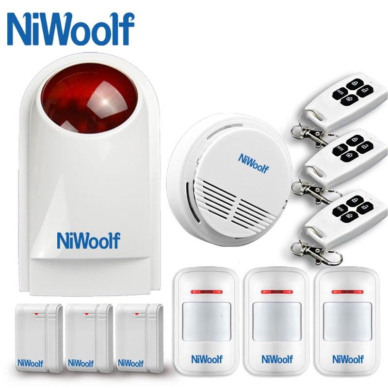 433 мГц Беспроводная GSM сигнализация.  Сирена-световой индикатор, домашняя система охранны, безопасность, аварийная система, совместим с другими GSM сигнализациями.