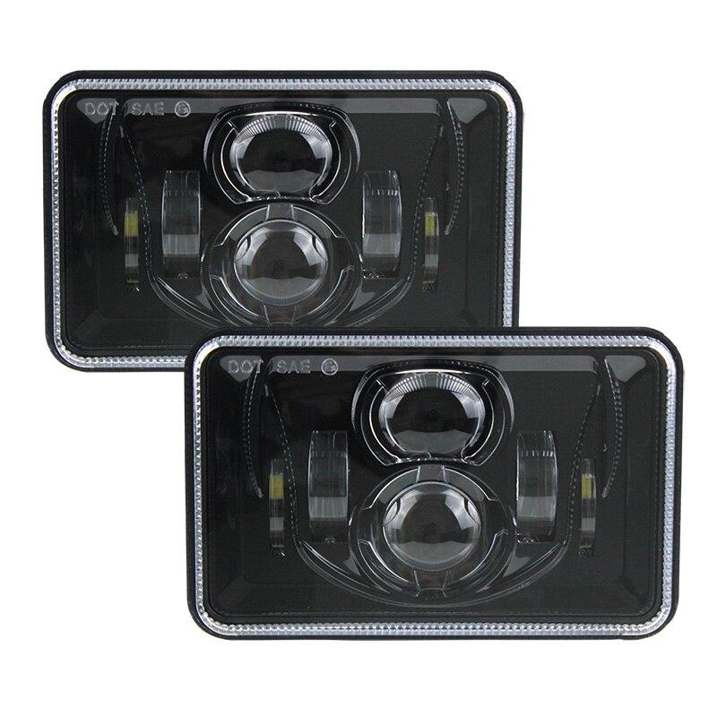 55W 4x6 H4 Led truck headlight bulb with Hi/Lo beam light 6x4