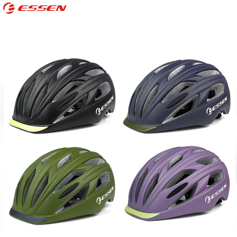 Intelligent Essen Men Adults Bicycle Helmet Pc+eps In-molded Cycling Road Mtb Bike Helmet Cap Insect Nets Casco Bicicleta Capacete Ciclismo
