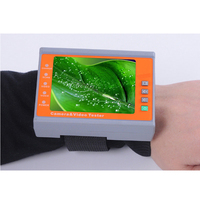 Wrist 3.5 LCD CVBS Analog Camera CCTV Tester Monitor Video Audio Test NTSC/PAL Auto Adjust