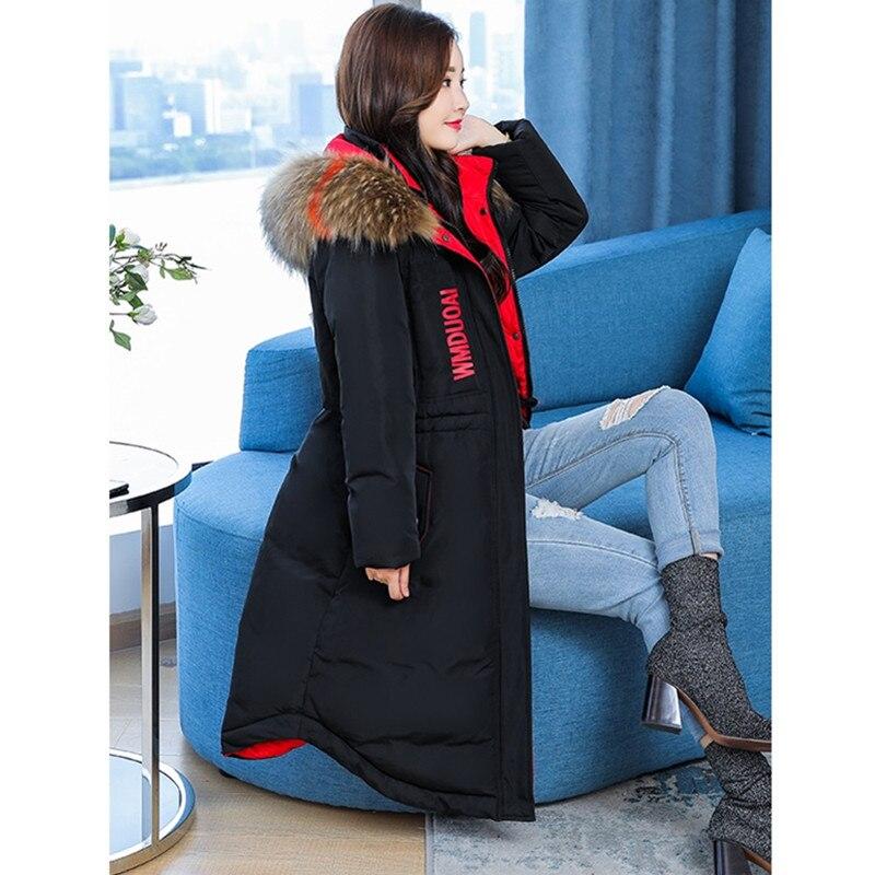 Fourrure Chaud D'hiver Manteaux Vestes Black Bas Le Coton Épais Plus Parka Fausse Taille Uhytgf L Pardessus 104 Veste Manteau Feminina Femme Vers 5xl En red Femmes nvxaWOSPW