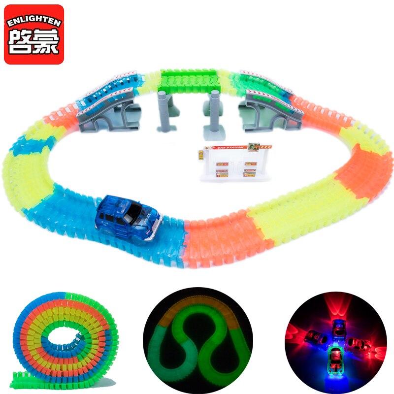 Elektronikus LED-es autójáték villogó fények Autós fiúk - Modellautók és játékautók