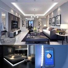 5V-24V Single Color LED Light  Music Controller For Strip Dimmers 12V 12 V Brightness Bluetooth APP Remote