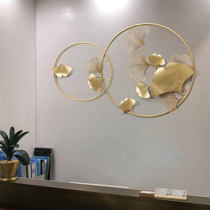 ديكور ورق النبات الجداري اكسسوارات جدارية
