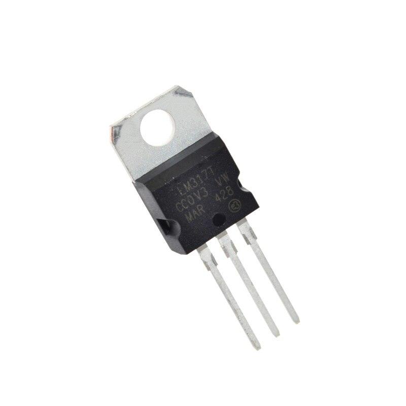 10 x LM317T LM317 Régulateur de tension 1.2 V à 37 V 1.5 A ST TO-220