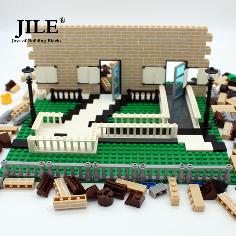 Creative Uses For Bricks: Building Blocks City DIY Creative Building House Bricks