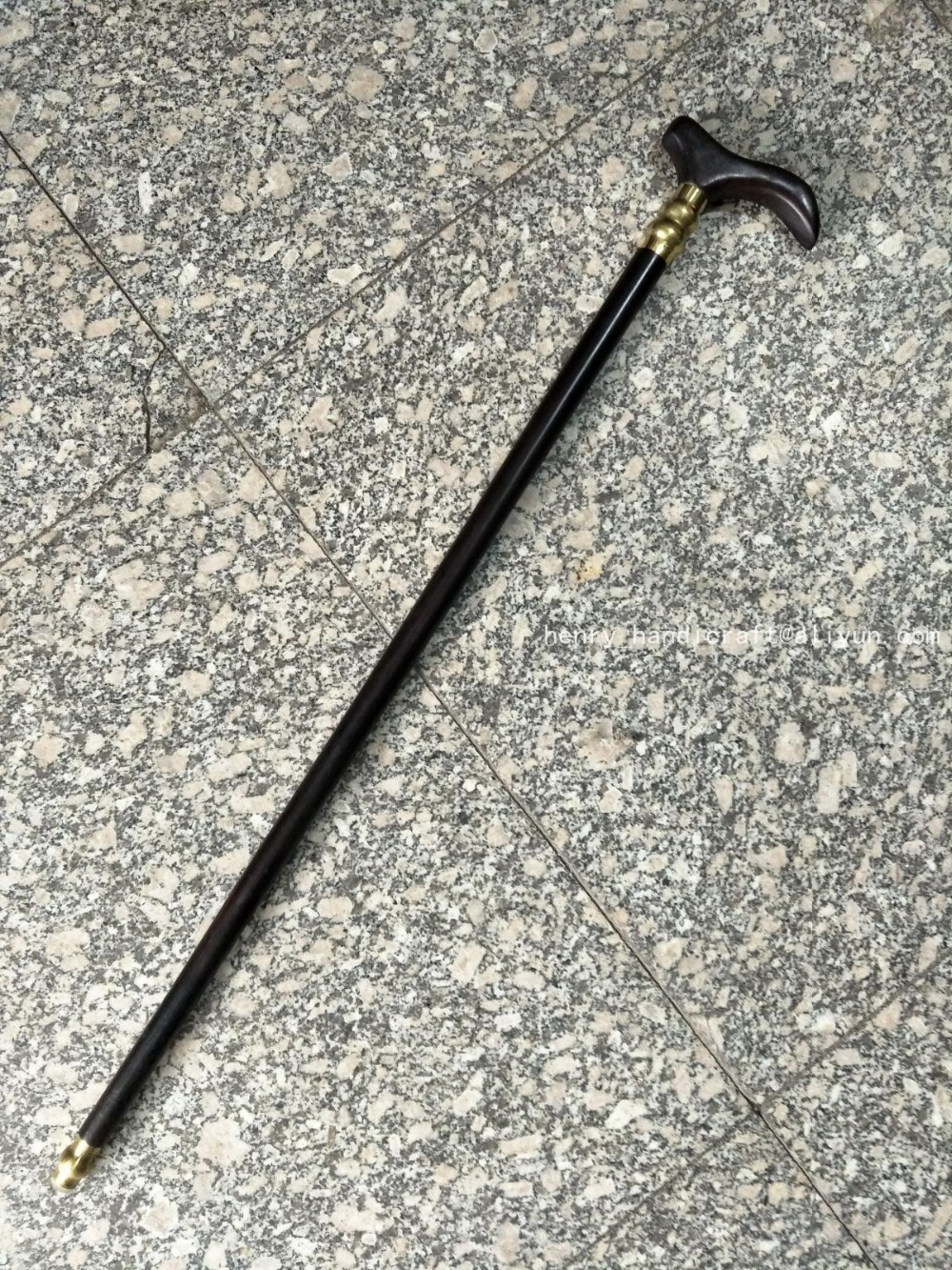 Rare Old Chinese old wood cane walking stick Gentlemanly exquisite designs Hand carved Ancient free shipping