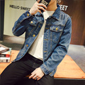 S-5XL Denim Calça Jeans Homens Jaqueta JC05 Jaqueta Bomber Homens Veste Homme Chaquetas Hombre 2016