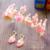 O acessório de cabelo noiva conjunto de acessórios peças conjunto De Noiva vermelho elegante Casamento De strass acessório do cabelo