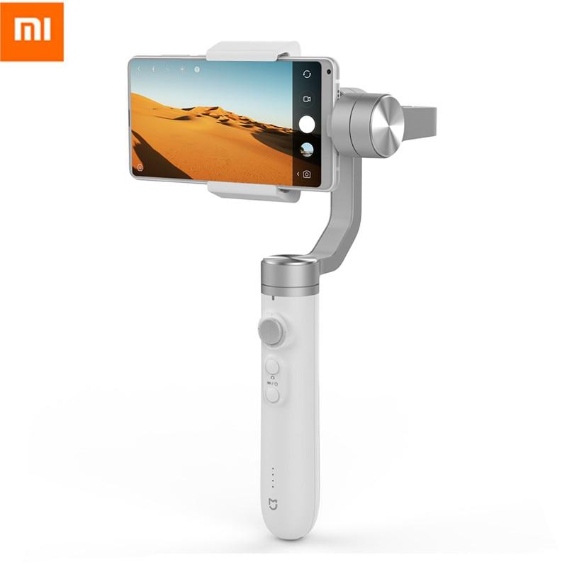 Xiaomi Mijia 3-х осевой ручной шарнирный стабилизатор 5000 мАч Батарея для экшн Камера и телефон стабилизатор Xiaomi SJYT01FM