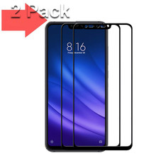 2 PCS Glass for Xiaomi mi8 Lite mi 8 Tempered 0.3mm 9H Full Cover Screen Protector Protective MI