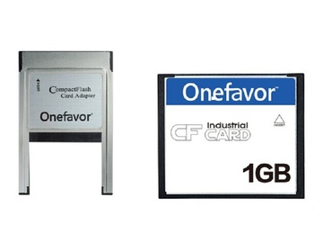 onefavor 32MB 64MB 128MB 256MB 1GB 2GB 4GB Compact Flash Card With ATA PC PCMCIA Adapter For JANOME Machines