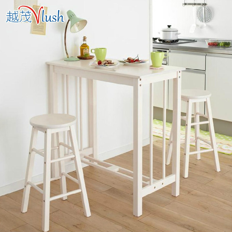 The More Luxuriant Wood Breakfast Table Chair Bar Stool