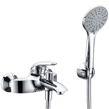 Смеситель для ванны WasserKRAFT Rossel 2801 (Керамический картридж, встроенный аэратор, латунь, хромоникелевое покрытие)