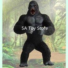 Calavera juguete de isla película King Kong: La Isla Calavera modelo de chimpancé figura de acción juguete de modelos coleccionables regalo para niños 19cm