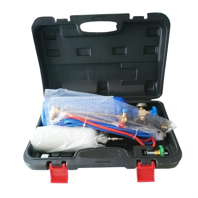 2L Welding Torch Small Cutting Welding Gun Welding Tool O2 Set Refrigeration Welding Oxygen Repair 2L Equipment