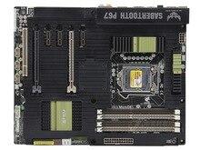 original motherboard for ASUS SaberTooth P67 LGA 1155 DDR3 32GB for i3 i5 i7 P67 Desktop motherborad Free shipping