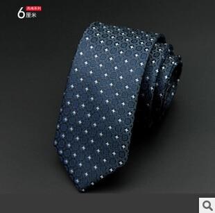 GUSLESON 1200 Nadeln 6 cm Mens Ties New Man Mode Dot Krawatten - Bekleidungszubehör - Foto 2
