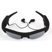 2016 Audio Video Bluetooth Camera Smart Sunglasses Sport Camcorder Recorder Portable Mini Stereo MP3 Cycling/Car DVR Glasses