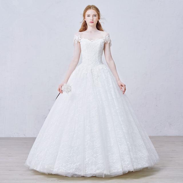 mzyw0072 off shoulder sweetheart neckline top lace applique wedding