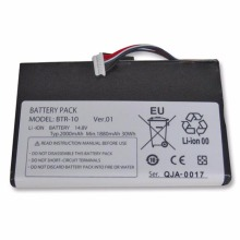 Battery Fujikura Tops 2000mah for Btr-10/Fsm-12s/Fsm-12r/.. Optical-Fiber News