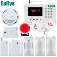Meilleur prix Promotion Anglais Utilisateur manuel GSM PSTN système D'alarme système D'alarme de sécurité À Domicile Livraison gratuite