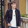Pioneer camp 2017 nueva llegada del otoño del resorte chaquetas de los hombres sólidos abrigos de marca de moda masculina informal chaqueta delgada hombres outerdoor 677112