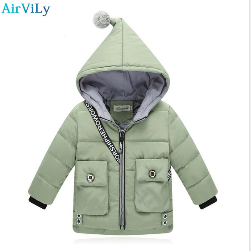 Baby Girls Jackets 2018 Autumn Winter Jacket For Girls Winter Minnie Cat pocket Coat Kids Clothes Children Warm Outerwear Coats children winter coats jacket baby boys warm outerwear thickening outdoors kids snow proof coat parkas cotton padded clothes