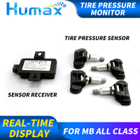 Universal tyre pressure monitoring system tire pressure meter for mercedes C E CLA GLC GLA CLS OE TPMS driving alert dash board
