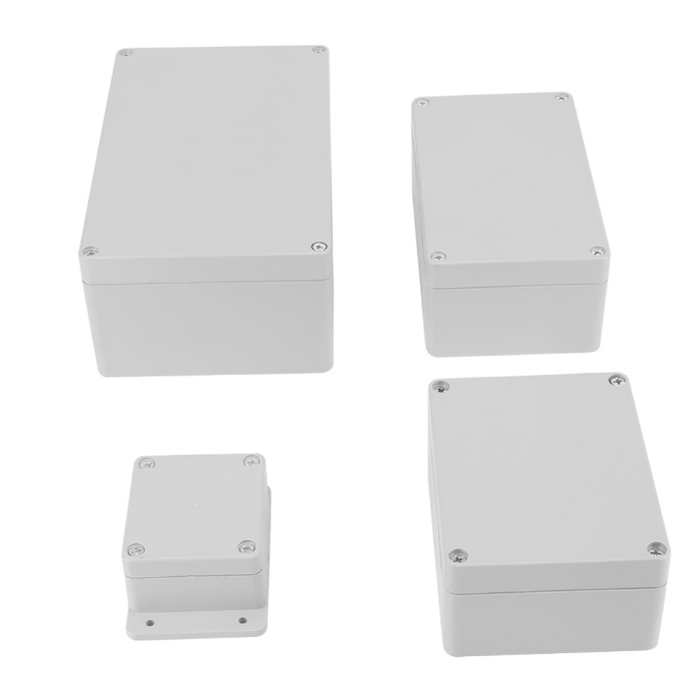 Waterproof IP65 ABS Junction Box Electrical Project Box Enclosure Instrument Case Wiring Connection Box