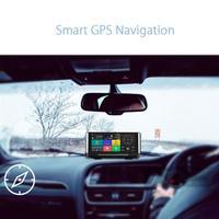 VODOOL מערכות ניווט לרכב GPS Navigator 6.86 inch Bluetooth אנדרואיד 5.0 רכב עם רכב DVR המצלמה מקליט נהיגה הרכב GPS