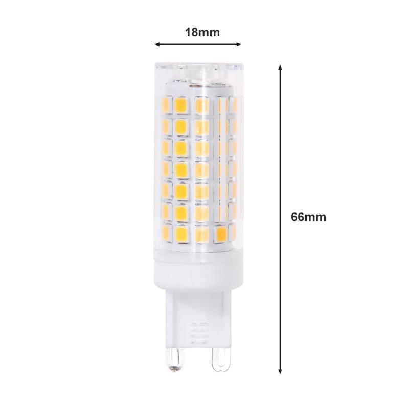 G9 E14 E12 LED Lamp AC220V 88LEDS 2835SMD 6W LED Light Bulb 690LM super bright Chandelier LED Light replace 70W Halogen Lamp