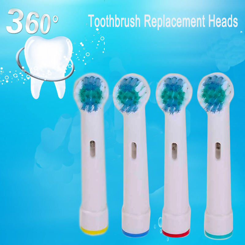 4pcs Replacement Brush Heads For Oral-B Electric Toothbrush fit B raun Professional Care/Professional Care SmartSeries image