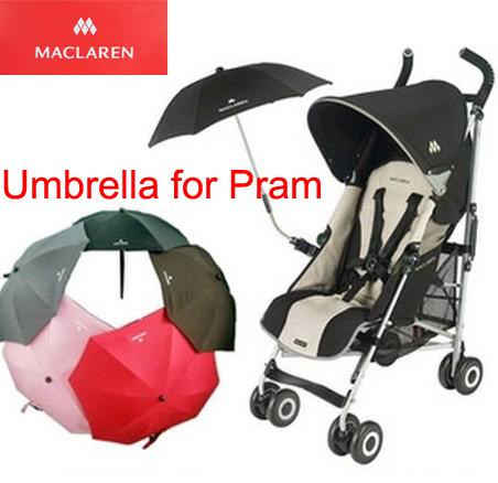 Maclaren bebé cochecito del paraguas Cochecito de bebé cochecito del paraguas de protección solar paraguas cochecitos De Muñecas para Accesorios para silla de ruedas