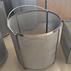 YUEWO фильтр Extra Large13.7x13.7Inch пивоварения бункер сетчатый фильтр 304 нержавеющая сталь 300-400 микрон Сетки Homebrew хмель пиво