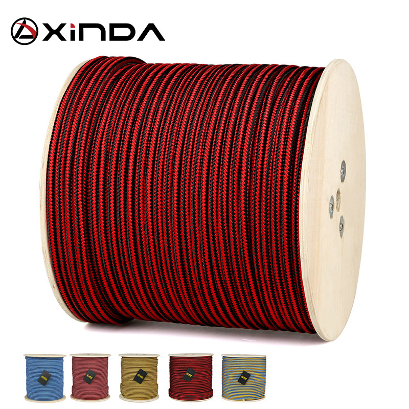 XINDA Escalada Paracord Climbing Tree Rope Accessories Cord  High Strength Paracord Safety Jungle Crossing Rope Survival