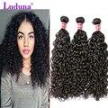 Water Wave Virgin Hair 8A Grade Virgin Unprocessed Human Hair Water Wave Brizilian Virgin Hair  4 Bundles Curly Weave Human Hair