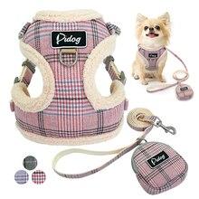 Harnais de harnais doux pour chiens