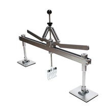 Pull bar for aluminum and steel dent pulling