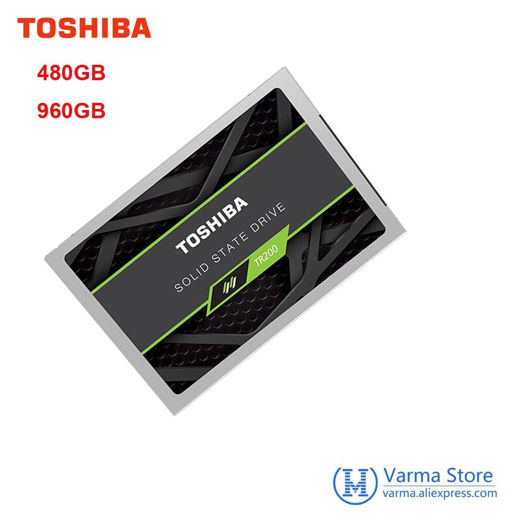 Toshiba SSD 480 ГБ TR200 SSD 2,5 Высокая Скорость ssd Drevo 960 ГБ внутреннего жесткого диска Sata III Порты и разъёмы дешевые SSD дисков для ноутбуков TLC