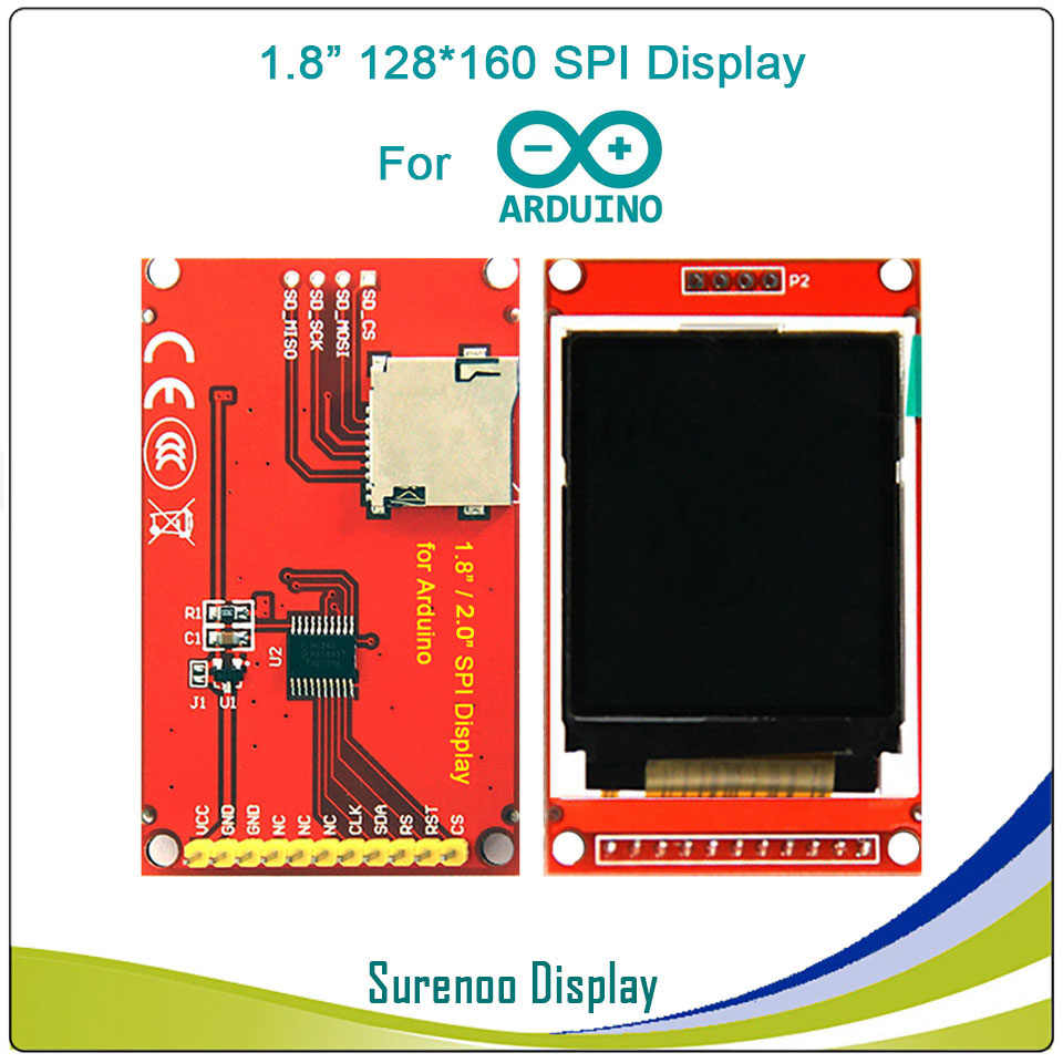 1 44, 1 8, 2 0, 2 2 inch Serial SPI TFT LCD Display Module Screen ST7735S  ILI9225G Drive Board For Arduino / STM32 / 51/ AVR