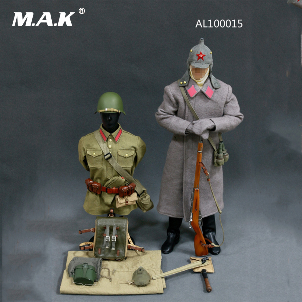 1/6 Scale WWII Soviet Red Army Infantry Equipment Set Male Soldier Clothes Set for 12 Inches Action Figures 1 6 male clothes set military uniform wwii soviet army cossack cavalry clothes suit for 12 inches man action figure accessory
